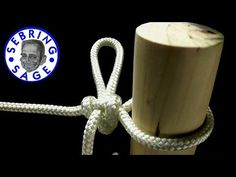 Knot Tying: The High Post Hitch - YouTube