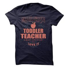 Toddler Teacher - #gift certificate #grandma gift. PURCHASE NOW => https://www.sunfrog.com/LifeStyle/Toddler-Teacher-61595476-Guys.html?68278