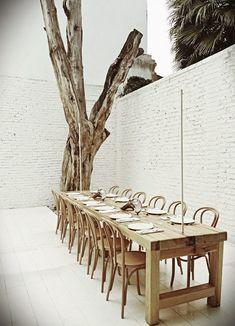 Bones // extraordinary white restaurant