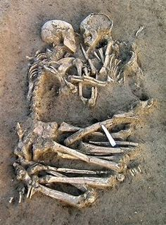 The Lovers of Valdaro. Discovered in Mantua, Italy, same location where Shakespeare set his story for Romeo and Juliet. They were no older than 20 years old when death occured.