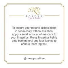 Blend those lashies together ladies! 🙌🏼✨ Who has used this trick before? X