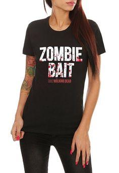 The Walking Dead Zombie Bait Girls T-Shirt