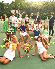 Sully, make sure everyone gets served 🎾 How are you watching (at Ocean Drive, Newport, RI) Preppy Outfits, Club Outfits, Preppy Fashion, Preppy Men, College Outfits, Wimbledon, Preppy Southern, Southern Shirt, Southern Marsh