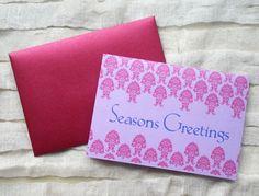 Fleur Seasons Greetings cards