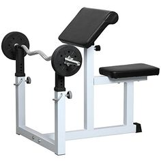 Topeakmart EN957 Commercial Preacher Curl Weight Bench Seated Preacher Isolated Dumbbell Biceps *** You can find out more details at the link of the image.