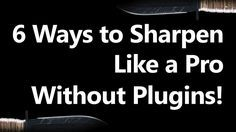 6 Ways to Sharpen without Using Plugins!  http://f64academy.com/6-ways-to-sharpen-without-using-plugins/  So sharp you just may cut yourself...  Earlier in the week (Read the article Extinguishing Software Anguish) I discussed just how powerful Photoshop is and how it may be the only piece of software you will ever need.  This week's Free Tutorial surely emphasizes the notion that Photoshop alone, if you know how to use it, can be more powerful than any add-on plugin.  As you know, I do take…