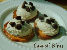 Cut the Wheat: Cannoli Bites
