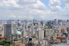 São Paulo City - São Paulo / Brazil - the largest city in Brazil, the largest city in the western and southern hemisphere and the world's seventh largest city by population.