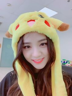 Find images and videos about blackpink and jisoo on We Heart It - the app to get lost in what you love. Blackpink Jisoo, Pikachu Hat, Cute Pikachu, Black Pink ジス, Black And Brown, Kim Jennie, Yg Entertainment, Kpop Girl Groups, Kpop Girls
