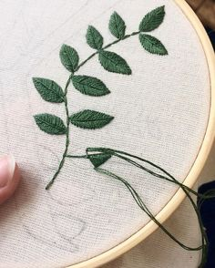 What letter is next in the collection? Hand Embroidery Videos, Flower Embroidery Designs, Simple Embroidery, Hand Embroidery Stitches, Embroidery Hoop Art, Embroidery Techniques, Cross Stitch Embroidery, Embroidery Fashion, Making Fabric Flowers