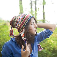 Andean Chullo Hat pattern by Kerin Dimeler-Laurence. Gorros de lanaGorras Tejer ... 7e8a52ddd05
