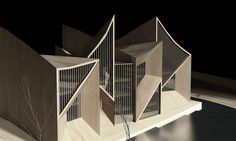 Library for Qujing Culture Center Hordor Design Group Atelier Alter Quijing China 2015 cultural architecture