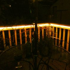 String Lights On Deck Railing : 1000+ images about Deck/Other Outdoor Lighting on Pinterest Deck lighting, Railings and Decks