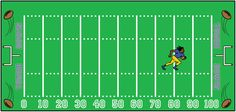 Using football to help understand slope and y-intercept.