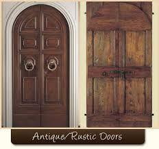 rustic wood front doors - Pesquisa Google