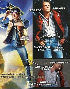 Dress up as Marty from Back to the Future!