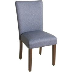 Mix and match with this HomePop parson dining chair for a totally unique dining room. Parsons Dining Chairs, Solid Wood Dining Chairs, Upholstered Dining Chairs, Dining Chair Set, Dining Room, Dinning Set, Furniture Legs, Furniture Outlet, Online Furniture