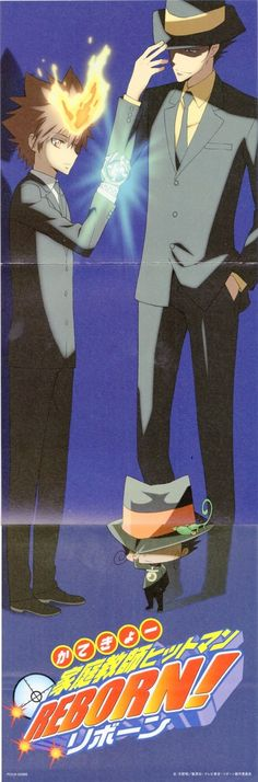 Katekyo Hitman Reborn!: Reborn and tsuna ! / WallpaperCASA