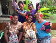 Our amazing #DaysforGirls Irvine team brought some kits over to the women in Natuvu Creek, Vanua Levu, Fiji! Thank you Cindy for sharing your story! / Image via #DaysforGirls Facebook
