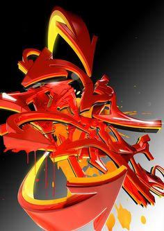 graffiti for 3d artist magazine