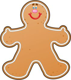 Clipart Images to Act out The Gingerbread Man