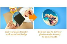 tutorial on transferring photos to paper or wood; i'm trying this!!