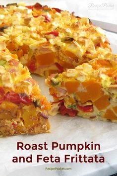 I absolutely love this roast pumpkin feta frittata. The sweetness from the roasted butternut pumpkin, combined with the saltiness from the feta cheese, and baco Egg Recipes, Pumpkin Recipes, Cooking Recipes, Roasted Pumpkin Recipe, Recipies, Cuban Recipes, Roasted Butternut, Greek Recipes, Butternut Squash