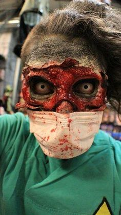 [ http://www.pinterest.com/toddrsmith/boo-who-adult-halloween-ideas/ ] - gory halloween special fx makeup