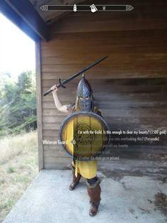 Skyrim Whiterun Guard