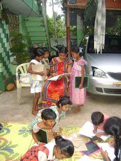 tutoring program for tribal children in India