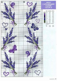 This Pin was discovered by Cross Stitch Bookmarks, Cross Stitch Borders, Cross Stitch Flowers, Cross Stitch Charts, Cross Stitch Designs, Cross Stitching, Cross Stitch Embroidery, Embroidery Patterns, Hand Embroidery