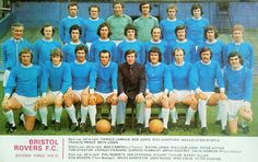 Bristol Rovers team group in 1972-73.