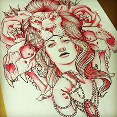 Fantastic tattoo design. #tattoo #tattoos #ink #ink #Tattoo #Art