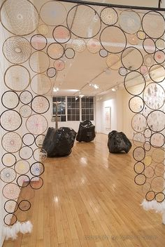 Holy moly. I am definitely doing a dream catcher room divider for someone.