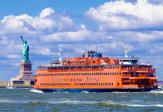 Staten Island Ferry, New York- a must-its free and goes right past the statue of liberty and you can see ellis island in the distance.Plus a great photo op of the city from the water esp at night