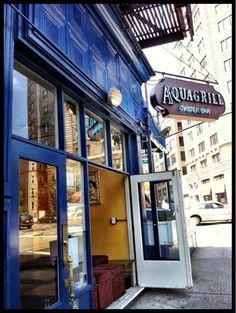 Recommended by Rachel Goodman  Aquagrill, Soho - There's something about warmer weather that makes me crave seafood. Head over to Aquagrill in Soho for some of the very best in the city!