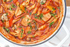 Natur House, Mushroom Recipes, All Things Christmas, Japchae, Sliders, Lasagna, Thai Red Curry, Stuffed Mushrooms, Good Food