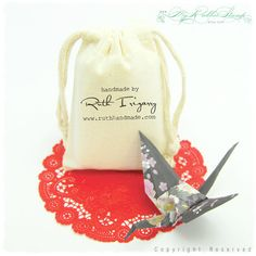 Premium Muslin Bags: DIY Wedding Favors