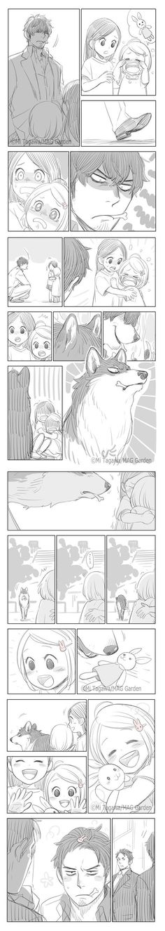 Wolf Comics, Manga Comics, Cute Cartoon Drawings, Disney Drawings, Erma Comic, Anime Lineart, Cute Couples Kissing, Manga Story, Funny Comic Strips