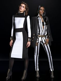 The H&M x Balmain Collaboration Is Pure Kardashian Fashion Fantasy: If you thought the crowds at Lilly Pulitzer for Target were crazy, you'd better break out the battle armor.