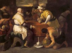 The Parable of the Prodigal Son- Receiving his Portion- Luca Giordano