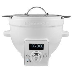 KitchenAid Precise Heat Mixing Bowl For Tilt-Head Stand Mixers KSM1CBT, White