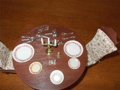 Vtg Pedigree Matilda Doll Dining Set Complete w Box 1977 22 PC Utensils Dishes   eBay