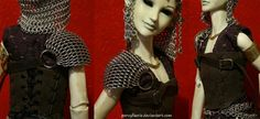 Dragonscale Doll Shoulder Piece - Dolls and Pets in Chainmail - Gallery - TheRingLord