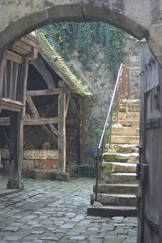 Honfleur ~ Normandy Treppen Stairs Escaleras repinned by www.smg-treppen.de #smgtreppen