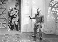 "Peter Lorre (June 26, 1904 - March 23, 1964) in ""Casablanca"", 1942 #still #actor"