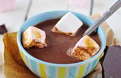 Soupe au chocolat et Chamallows