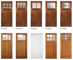 Images Craftsman Interior Door Styles With Craftsman Style Doors: My Interior Doors Are The White Craftsman Interior Doors, Craftsman Style Doors, Interior Door Styles, Craftsman Decor, Craftsman Exterior, Craftsman Bungalows, Exterior Doors, Craftsman Houses, Craftsman Style Interiors