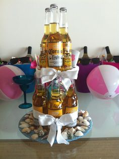We all know the traditional bachelorette theme parties that usually fall under the plume boa, hot attire and lots of pecker devices genres. Bachlorette Party, Beach Bachelorette, 30th Party, Bachelorette Party Themes, Party Rings, Cute Wedding Ideas, Retirement Parties, Cakes For Boys, Beach Party