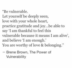 Listening to Shame – By Brené Brown   With Love, Emma